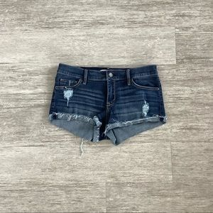 Abercrombie & Fitch Jean Distressed Short